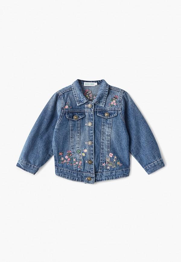 джинсовые куртка moon river для девочки, голубая