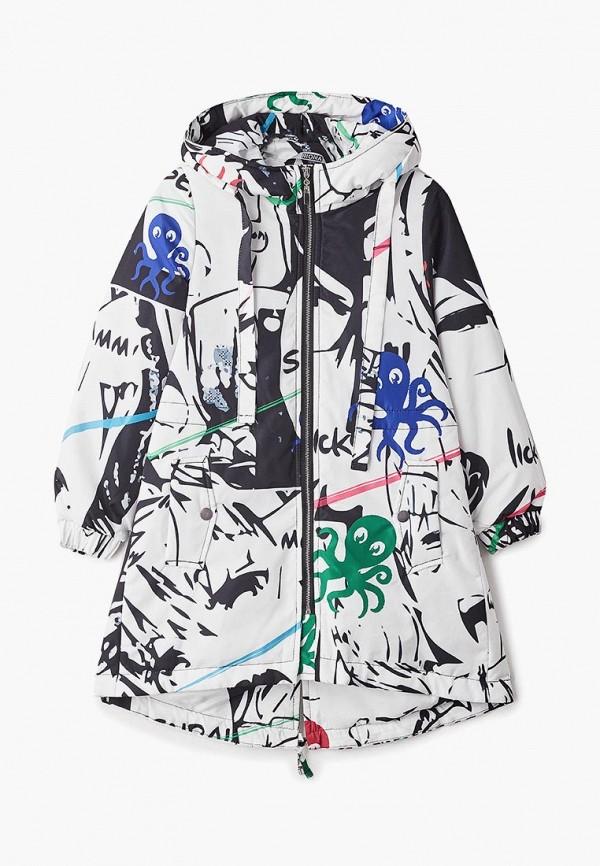 куртка rionakids для девочки, разноцветная