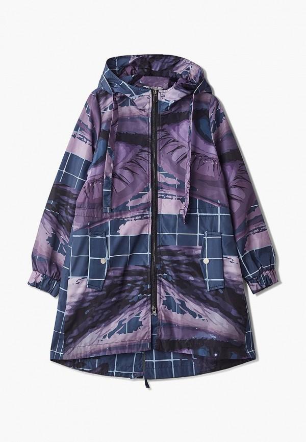 куртка rionakids для девочки, фиолетовая