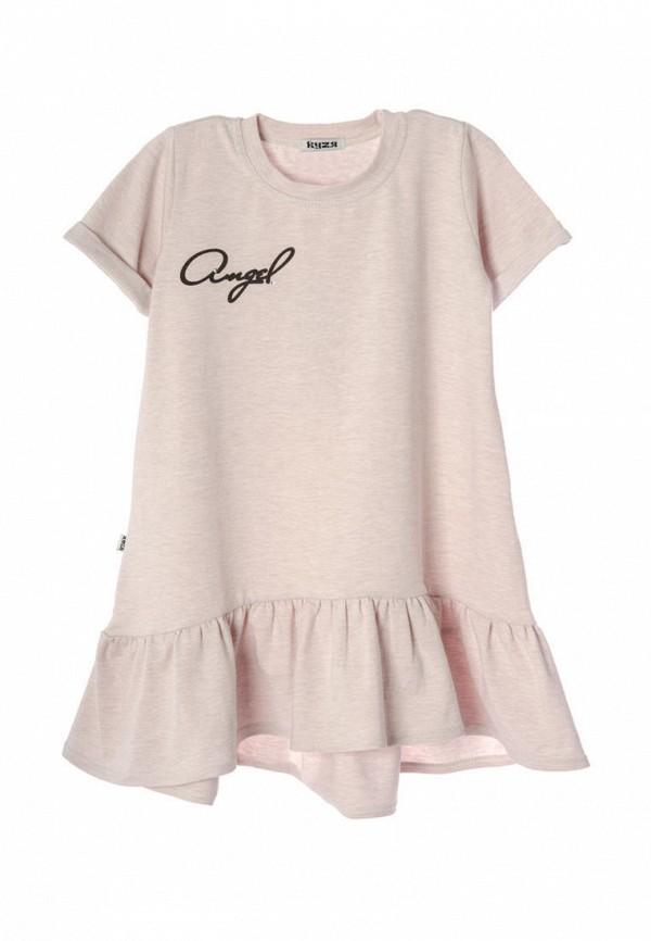 повседневные платье кузя для девочки, бежевое