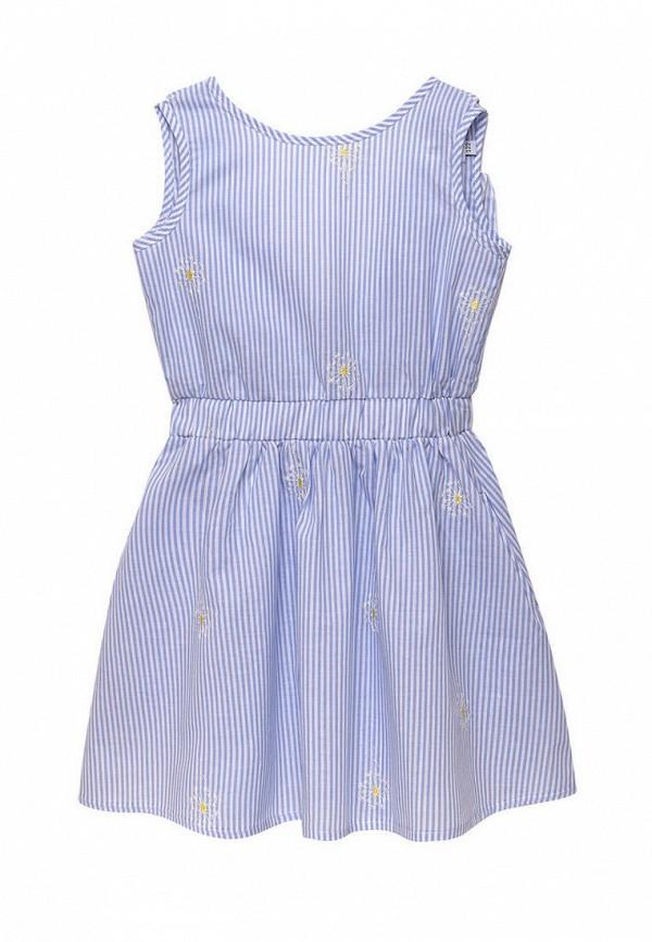 повседневные платье cookie для девочки, голубое