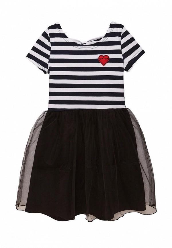 повседневные платье cookie для девочки, черное