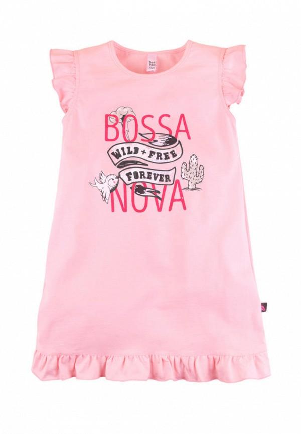сорочка ночная bossa nova для девочки, розовые