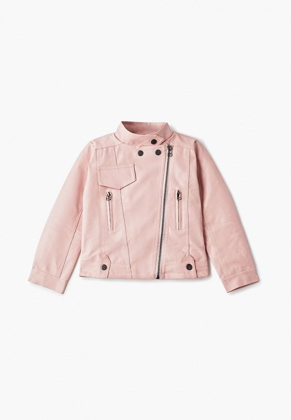 куртка moon river для девочки, розовая