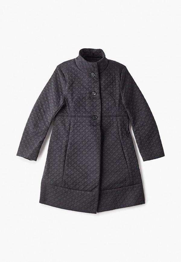 куртка naumi для девочки, черная