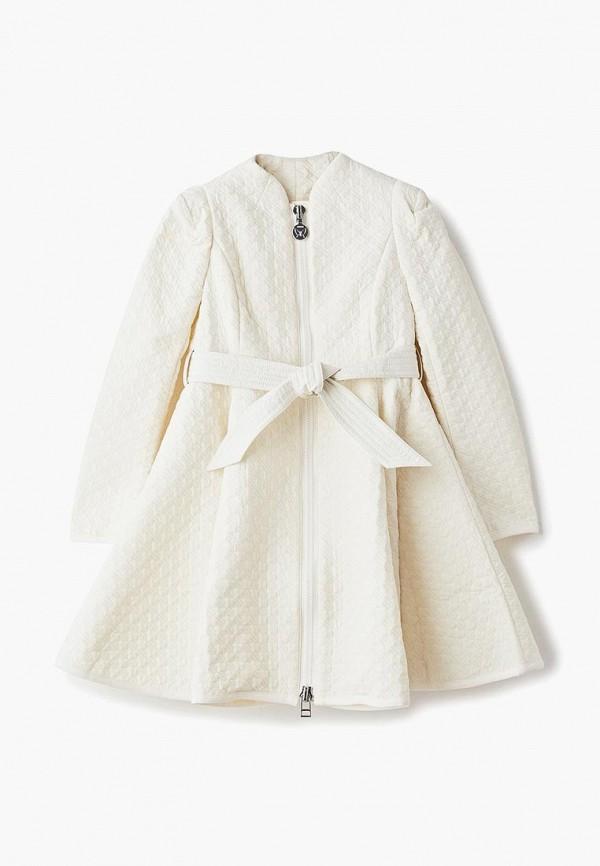 куртка naumi для девочки, бежевая