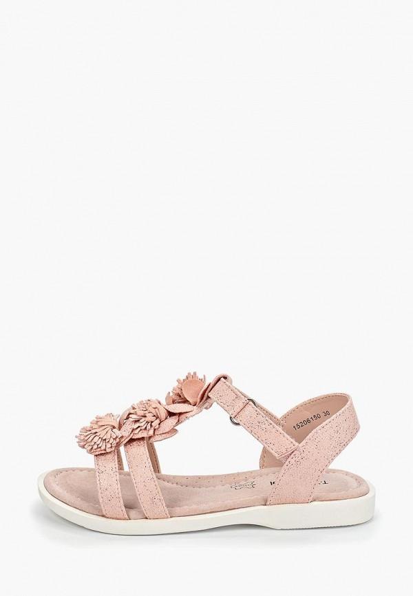 босоножки t.taccardi для девочки, розовые