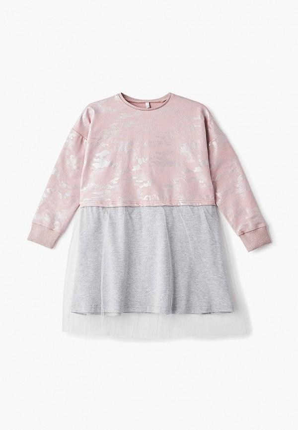 повседневные платье tforma для девочки, розовое