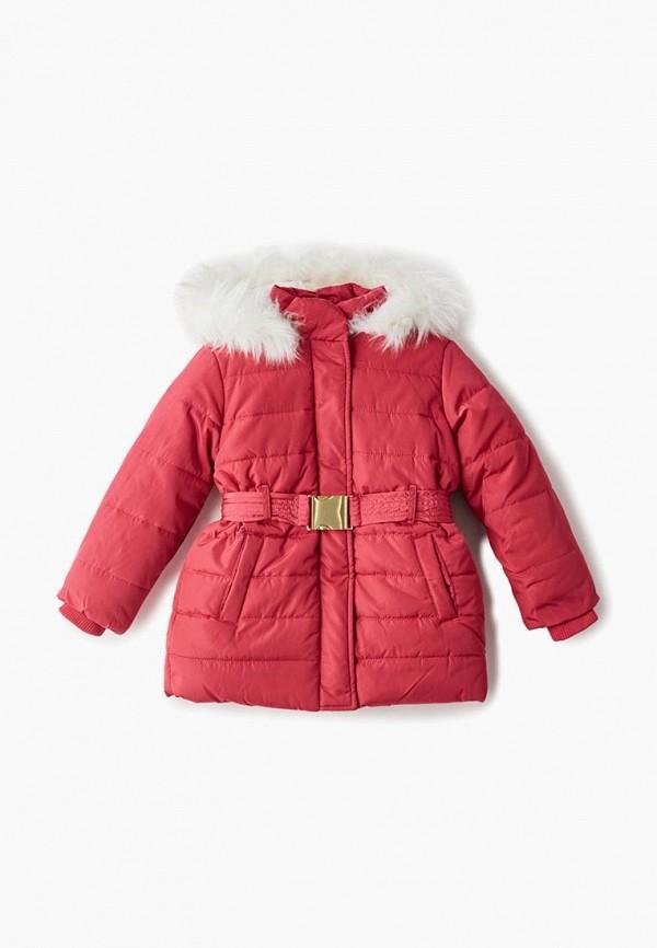 куртка incity для девочки, розовая