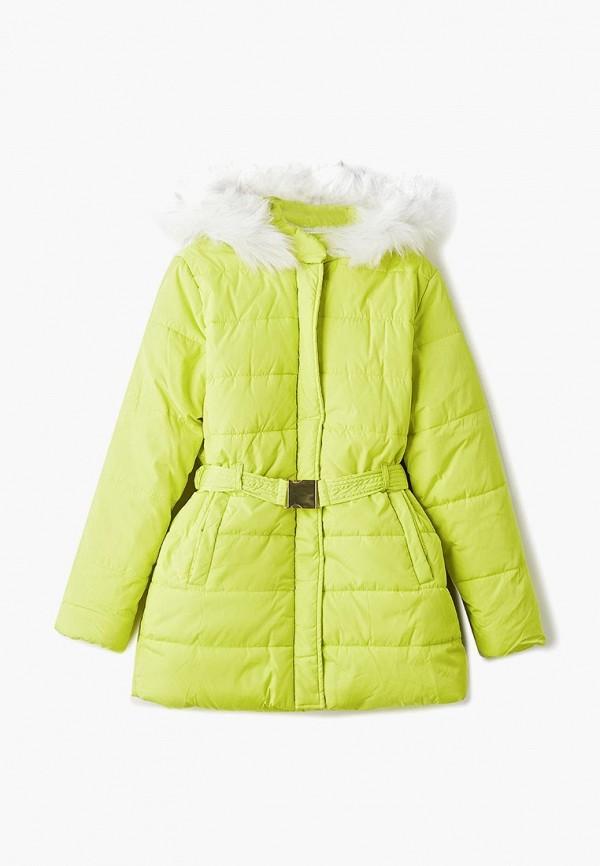 куртка incity для девочки, желтая