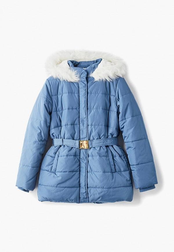 куртка incity для девочки, синяя