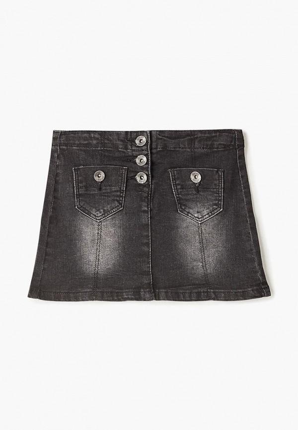 джинсовые юбка incity для девочки, черная