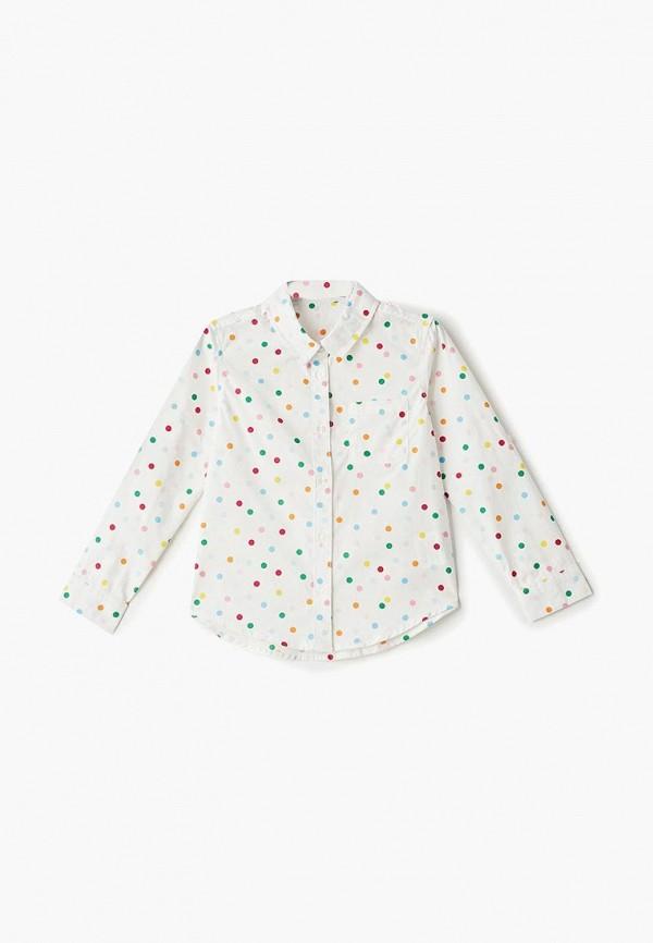 рубашка incity для девочки, белая