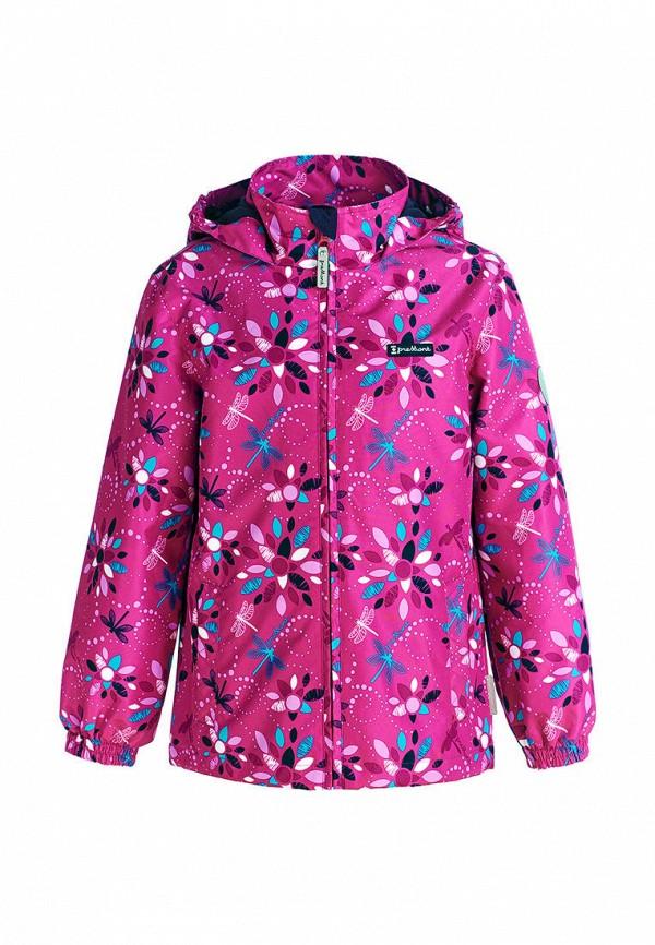 ветровка premont для девочки, розовая