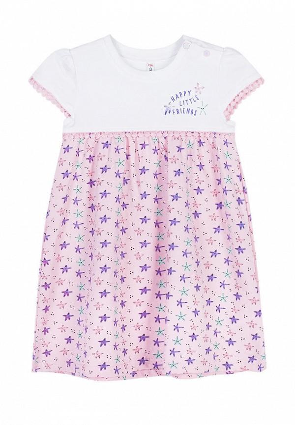повседневные платье coccodrillo для девочки, розовое