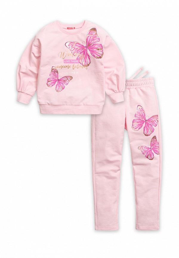 костюм pelican для девочки, розовый
