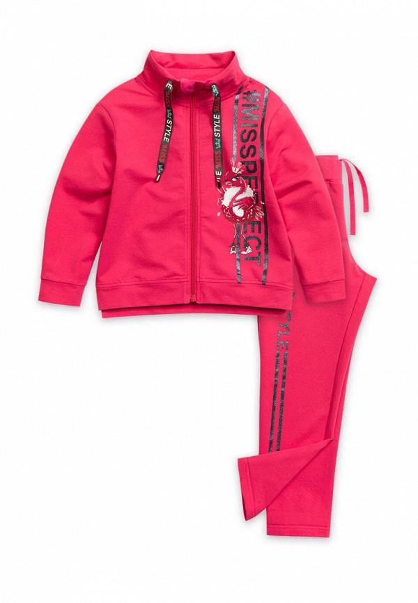 спортивный костюм pelican для девочки, розовый