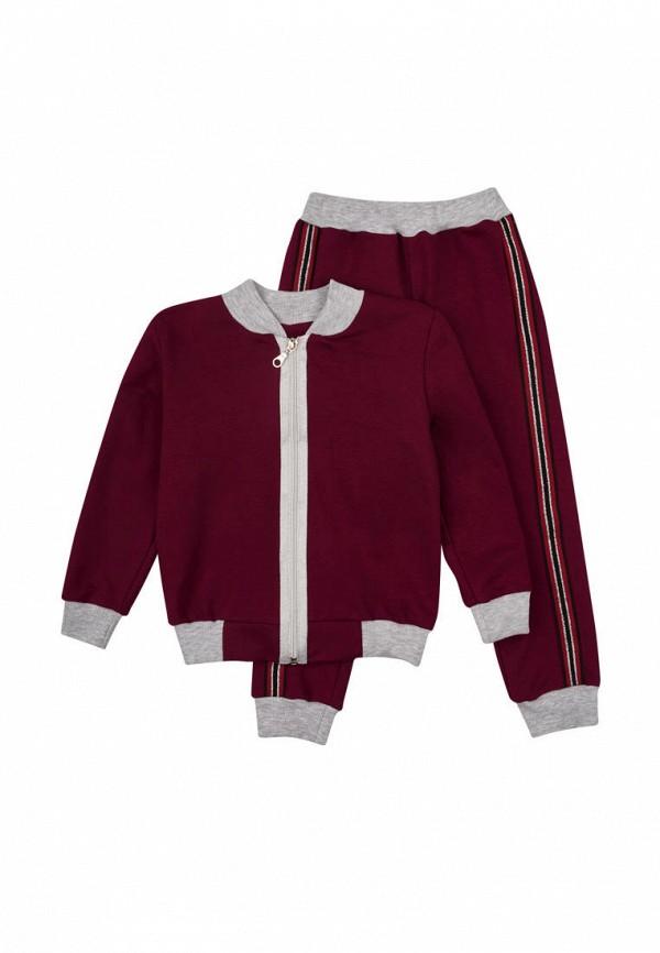 спортивные спортивный костюм вітуся для девочки, бордовый