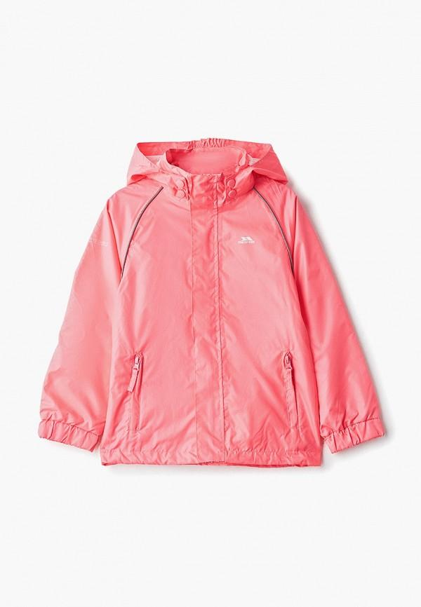 ветровка trespass для девочки, розовая