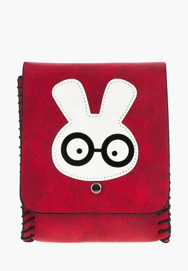 сумка mellizos для девочки, бордовая