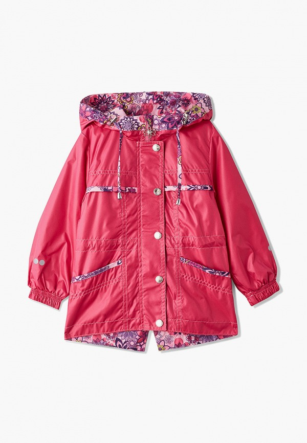 куртка saima для девочки, розовая
