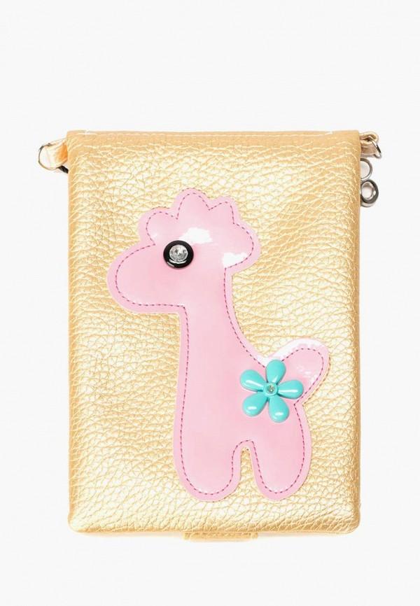 сумка mellizos для девочки, золотая