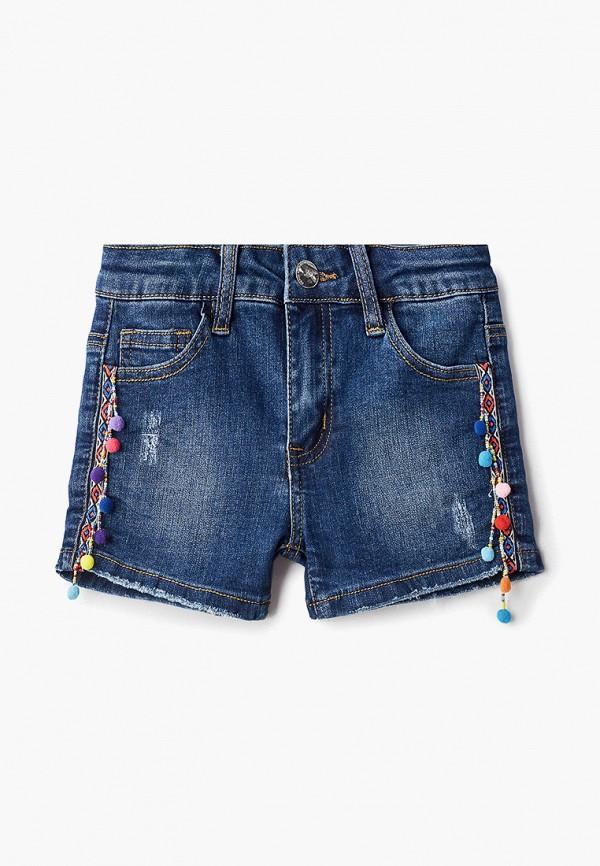 джинсовые шорты zarina для девочки, синие