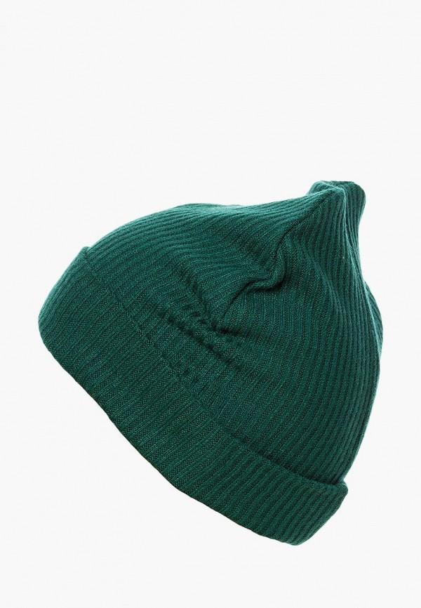 шапка mom&me для девочки, зеленая