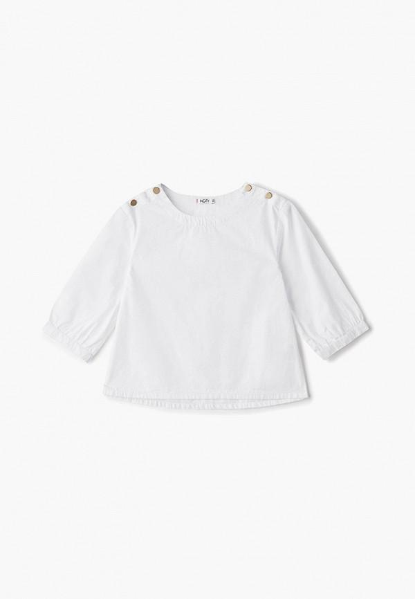 блузка incity для девочки, белая