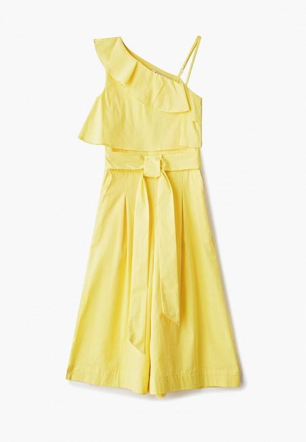 комбинезон zarina для девочки, желтый