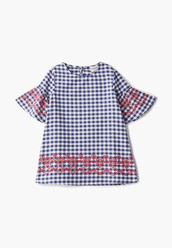 платье lc waikiki для девочки, синее