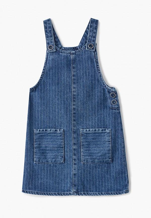джинсовые платье lc waikiki для девочки, синее