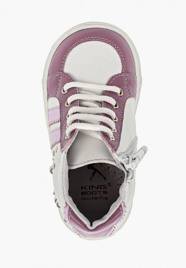 Ботинки для девочки King Boots цвет розовый  Фото 4