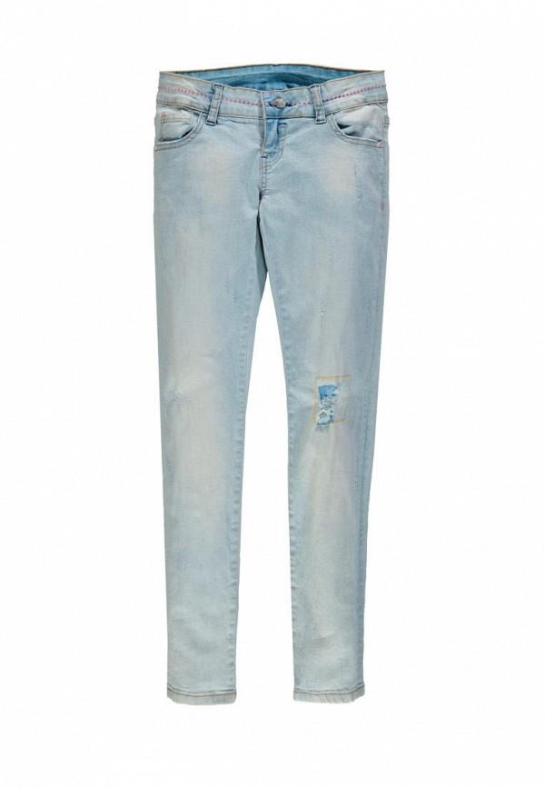 джинсы mek для девочки, голубые