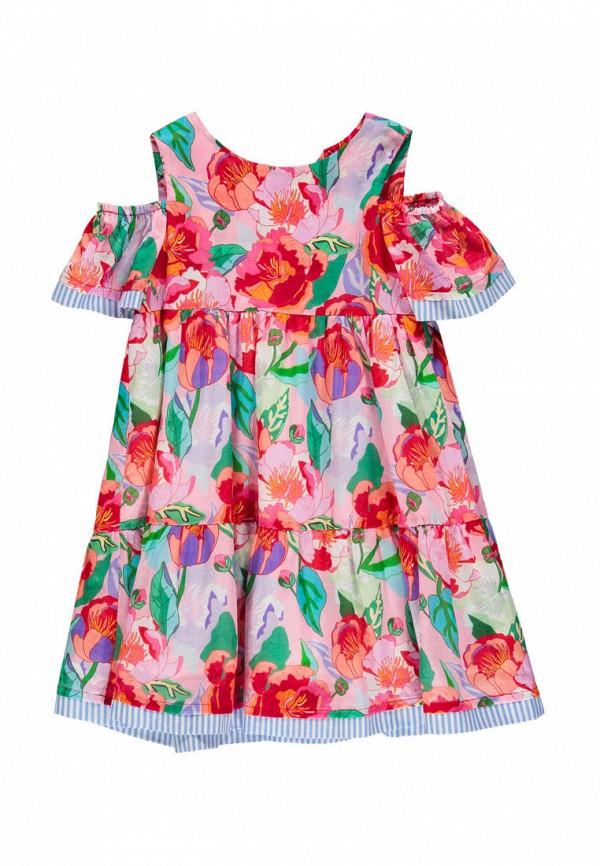 повседневные платье brums для девочки, разноцветное