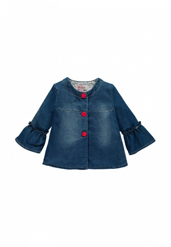 куртка brums для девочки, синяя