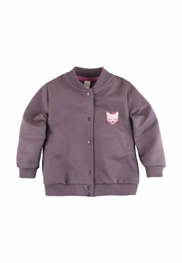 куртка bossa nova для девочки, коричневая