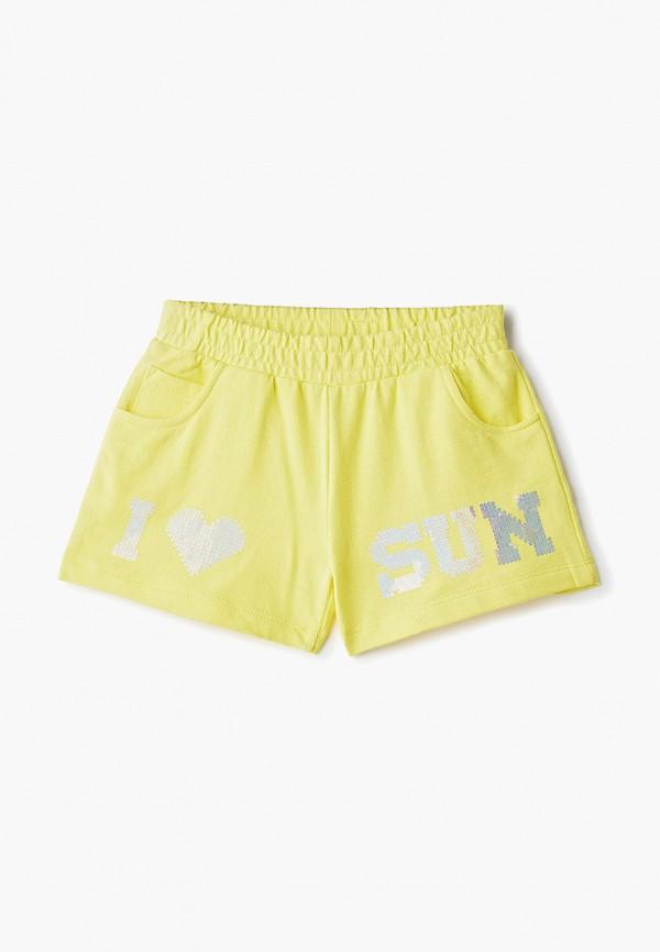 шорты zarina для девочки, желтые