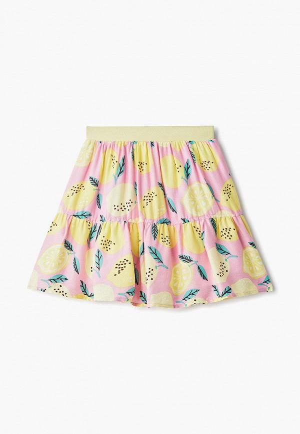 юбка zarina для девочки, разноцветная