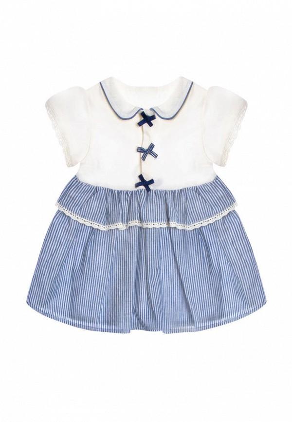 повседневные платье rbc для девочки, голубое