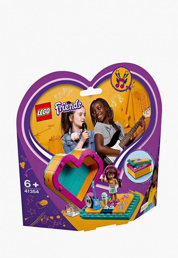 Конструктор Friends LEGO LEGO MP002XG00JT8 конструктор lego friends арт кафе эммы 41336