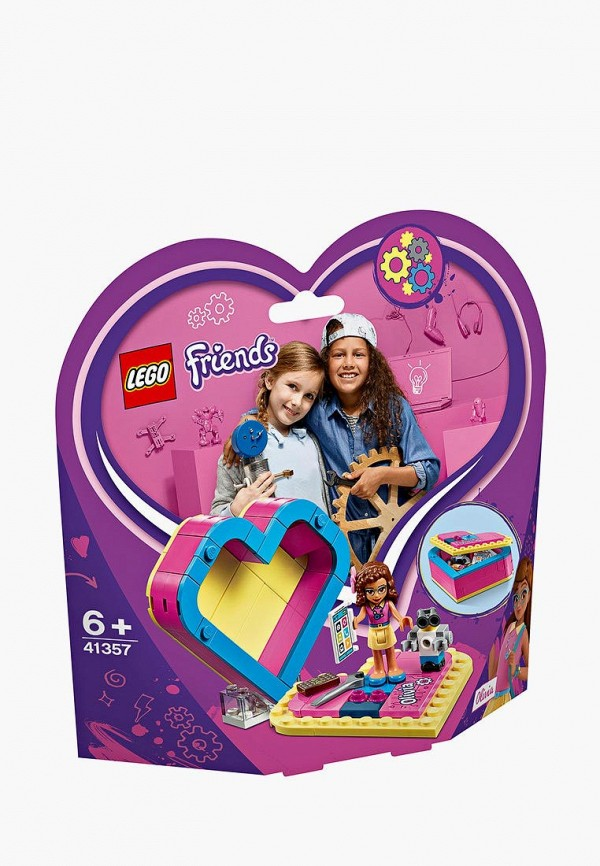 Конструктор Friends LEGO LEGO MP002XG00JTB конструктор lego friends арт кафе эммы 41336