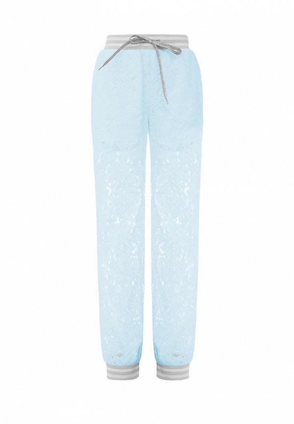 брюки смена для девочки, голубые