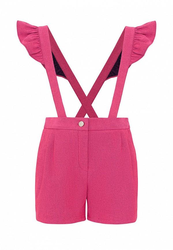 шорты смена для девочки, розовые