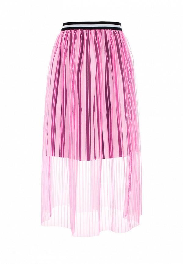 юбка смена для девочки, розовая