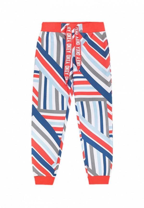 спортивные брюки crockid для девочки, разноцветные