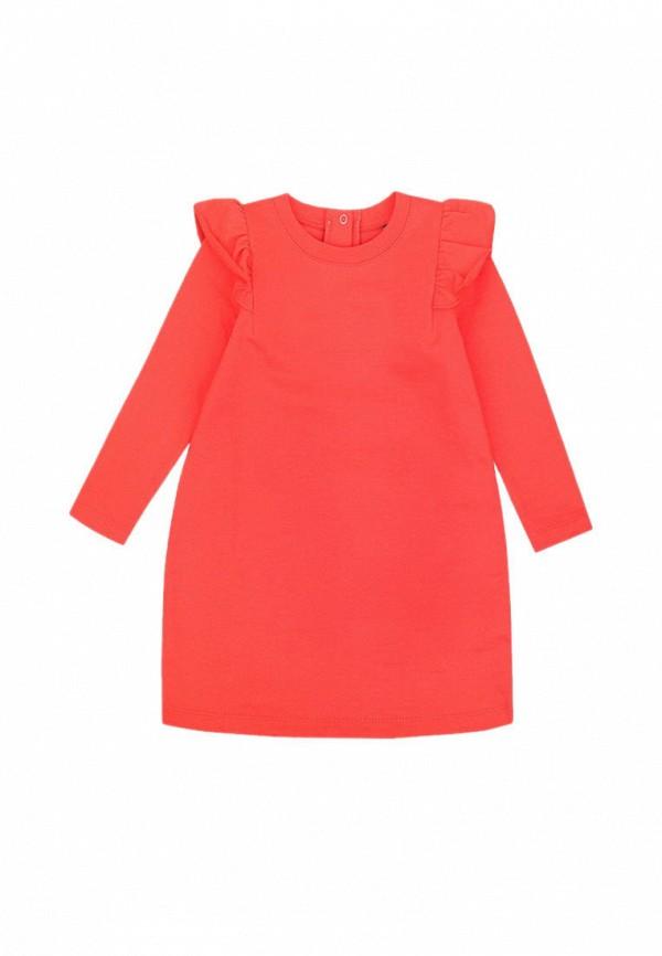 платье crockid для девочки, красное