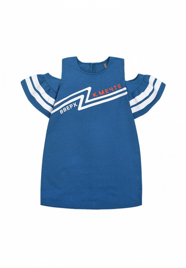 платье crockid для девочки, синее