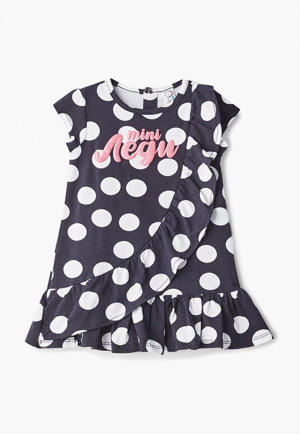 повседневные платье pixo для девочки, синее