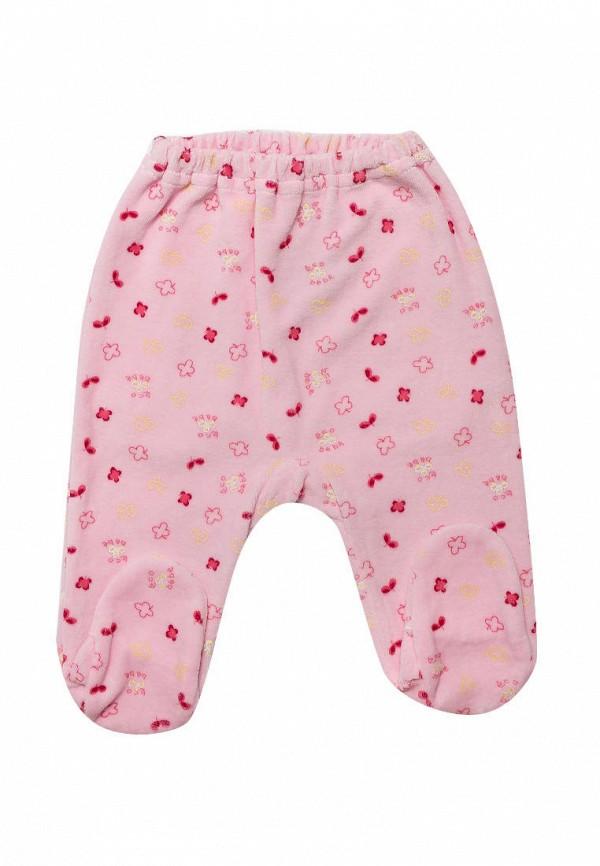 Ползунки Клякса Клякса MP002XG00K07 ползунки с грудкой трон плюс цвет белый розовый рисунок коровы 5221 размер 80 12 месяцев